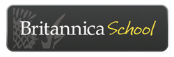 Britannica School logo and link